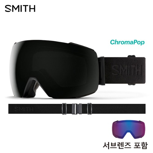 1920 SMITH IO MAG BLACKOUT CP SUN BLACK MIROR + STORM ROSE FLASH 아시안핏 스미스 아이오맥 보너스렌즈