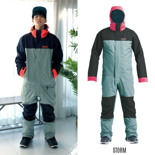 2021 AIRBLASTER INSULATED FREEDOM SUIT STORM 에블 원피스 점프수트 보드복
